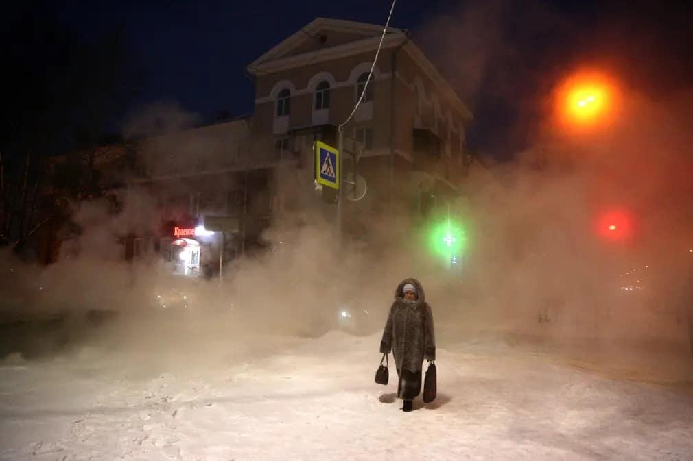 omszk oroszorszag tel hideg idojaras sziberia nap fotoja