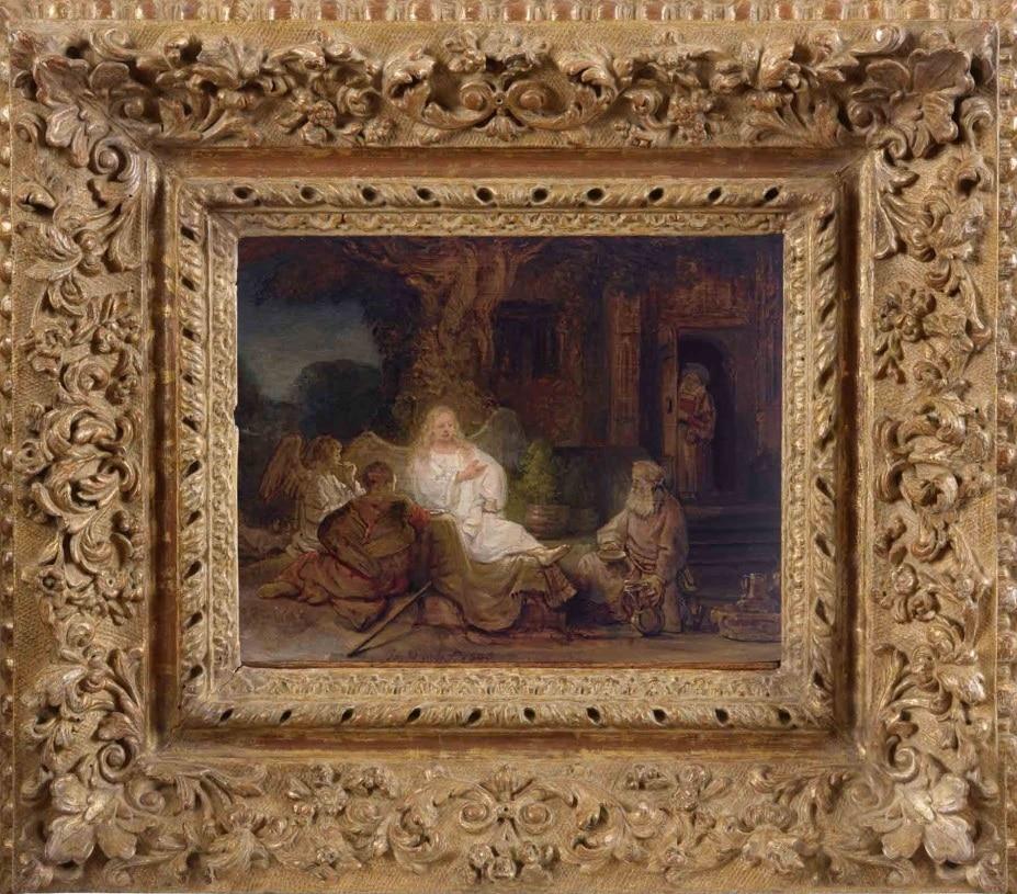 rembrandt abraham es az angyalok sothebys