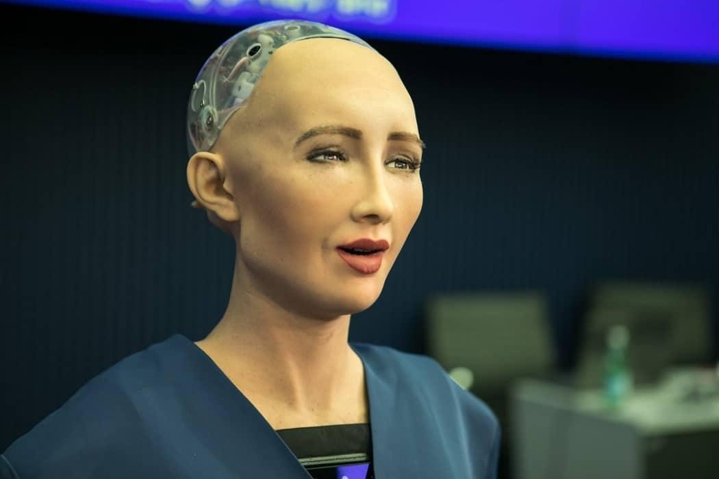 Sophia Robot Tomeggyartas