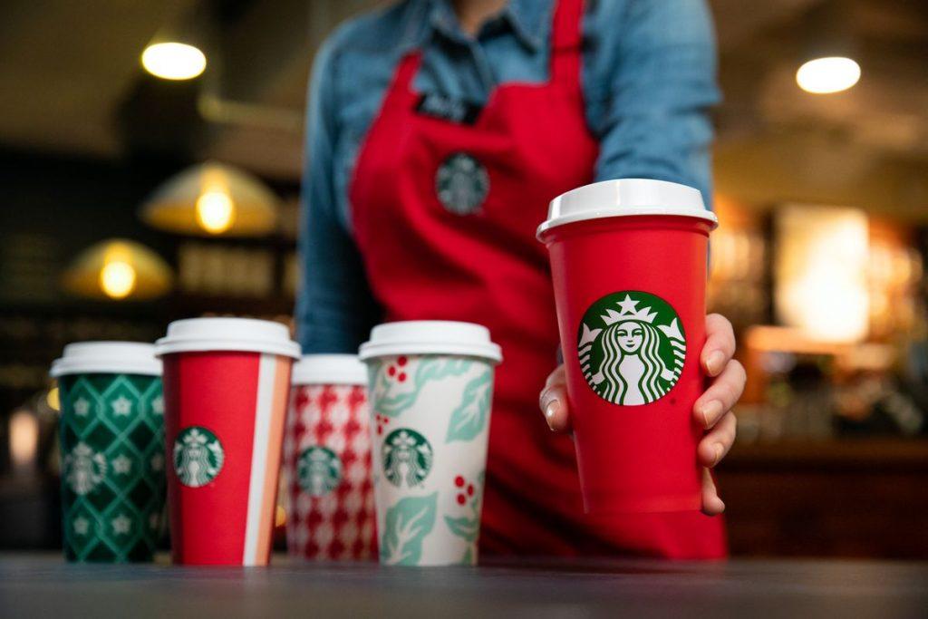 Starbucks Pohar Kiszolgalas Huzott Szem Kinai