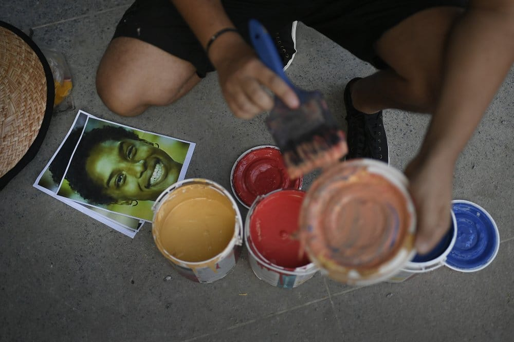 Tenykep Street Art Festekszoro Muveszet Festo Nap Fotoja