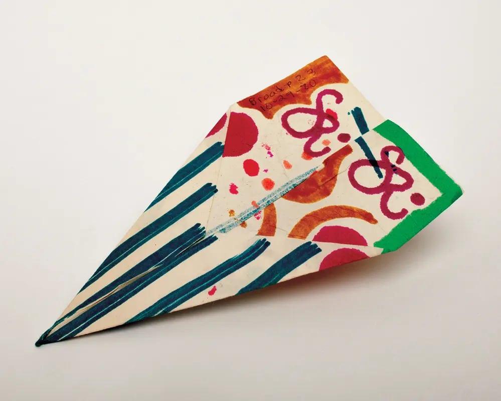 Harry Smith Amerikai Muvesz Antropologus Beat Papirrepulo Hajtogatas New York Szines Festek