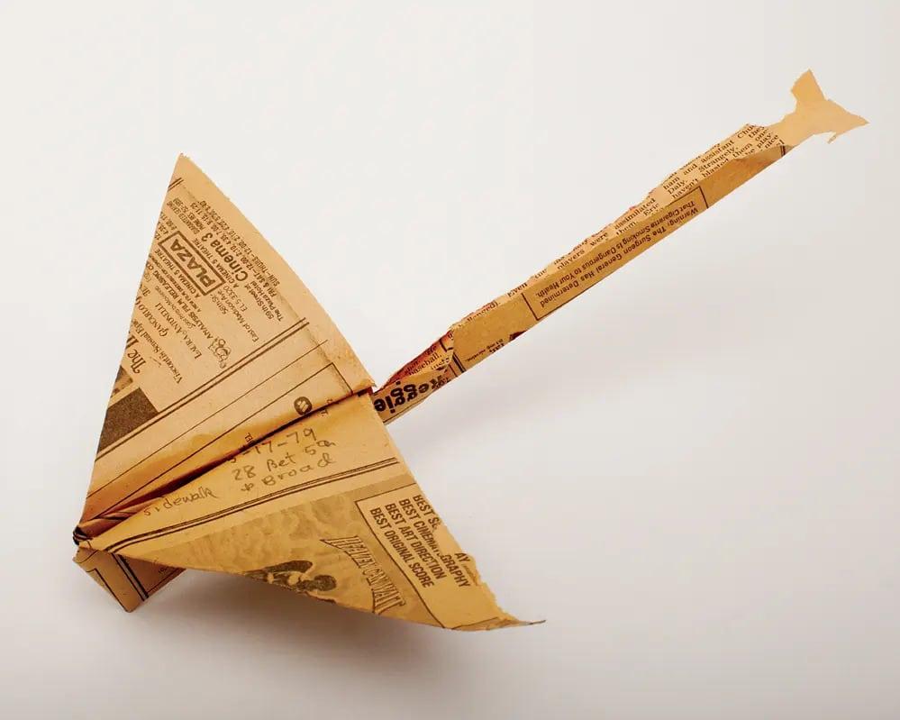 Harry Smith Amerikai Muvesz Antropologus Beat Papirrepulo Hajtogatas New York Ujsagpapir