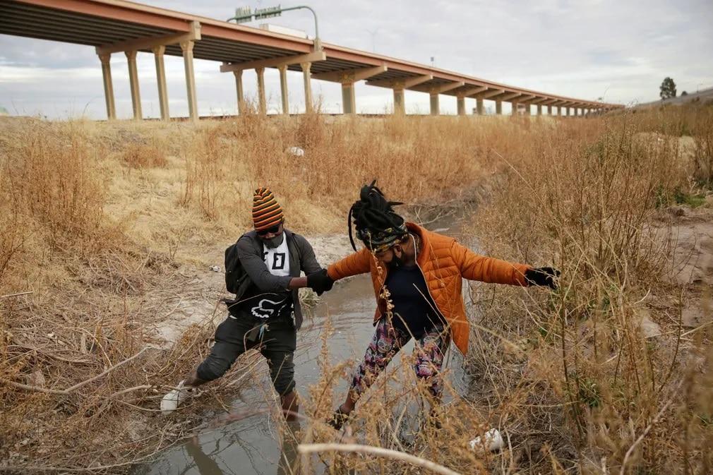 mexiko rio bravo folyo atkeles menekultek menekultstatusz nap fotoja