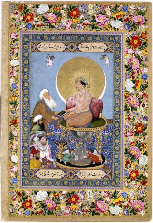 Bichitr Jahangir Preferring A Sufi Shaykh To Kings