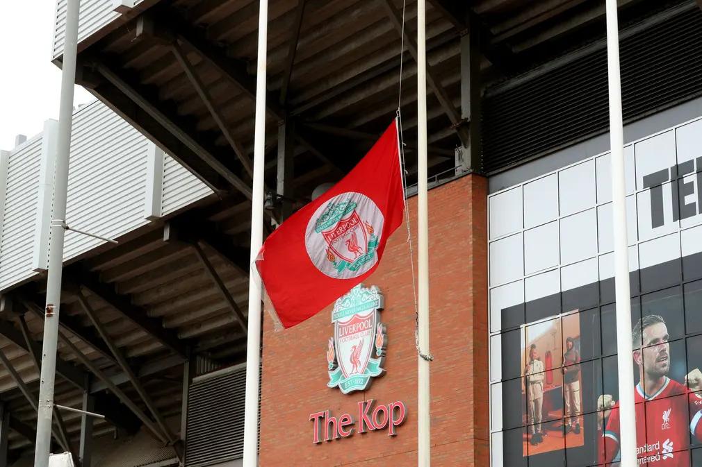 Ian St John Futball Foci Liverpool Focista Anfield Emlek Tisztelges Felarboc Kop Nap Fotoj