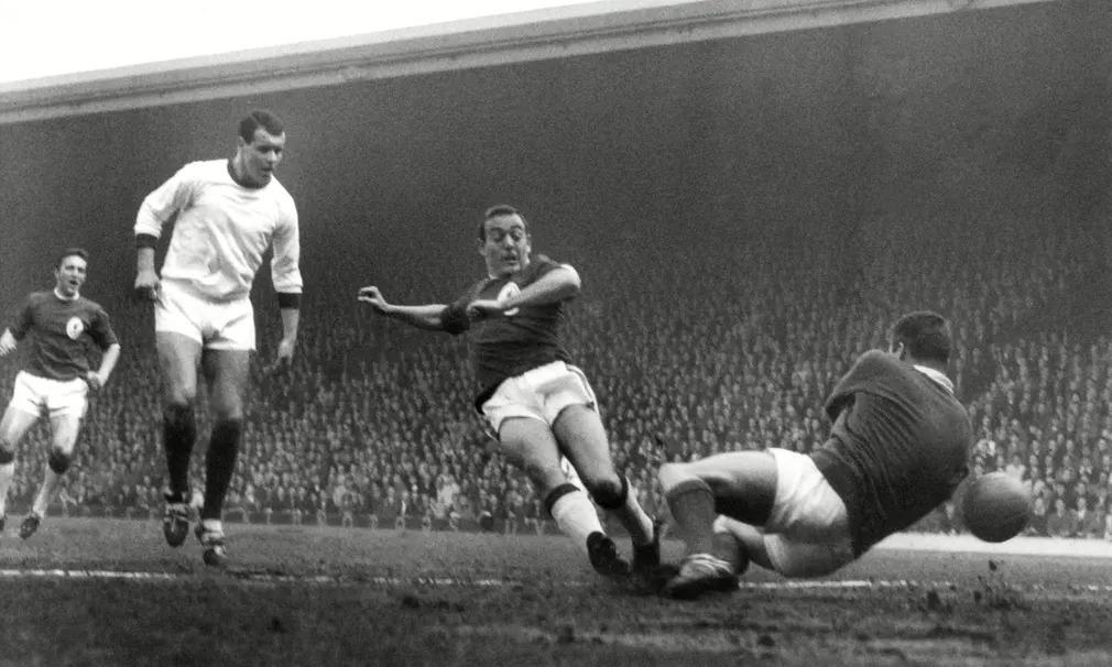 Ian St John Futball Foci Liverpool Focista Anfield Gyoztes Gol Arsenal Bill Shankly Nap Fot