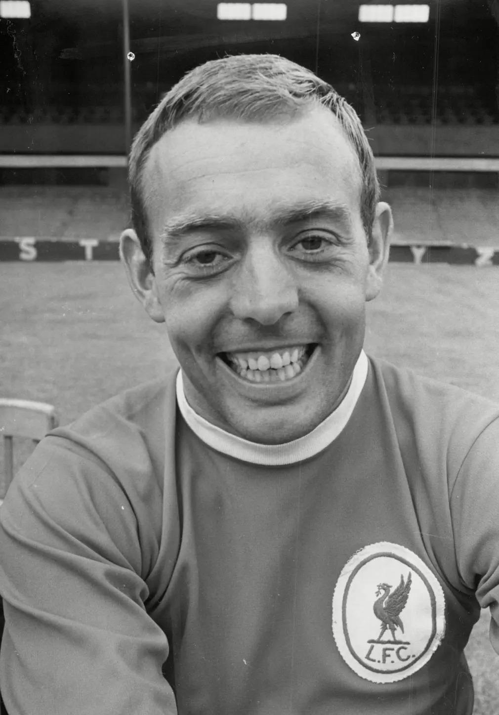 Ian St John Futball Foci Liverpool Focista Portre Nap Fotoja