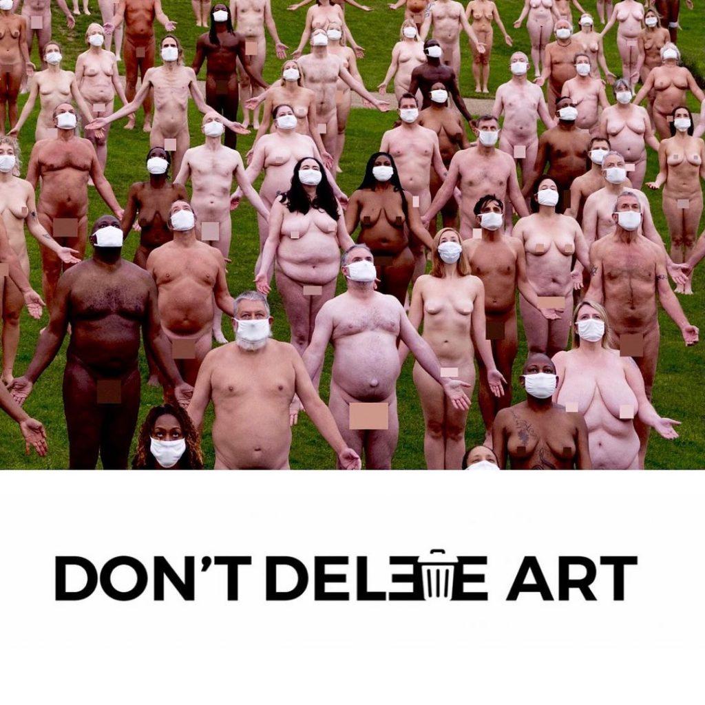 don't delete art instagram meztelen foto cenzura