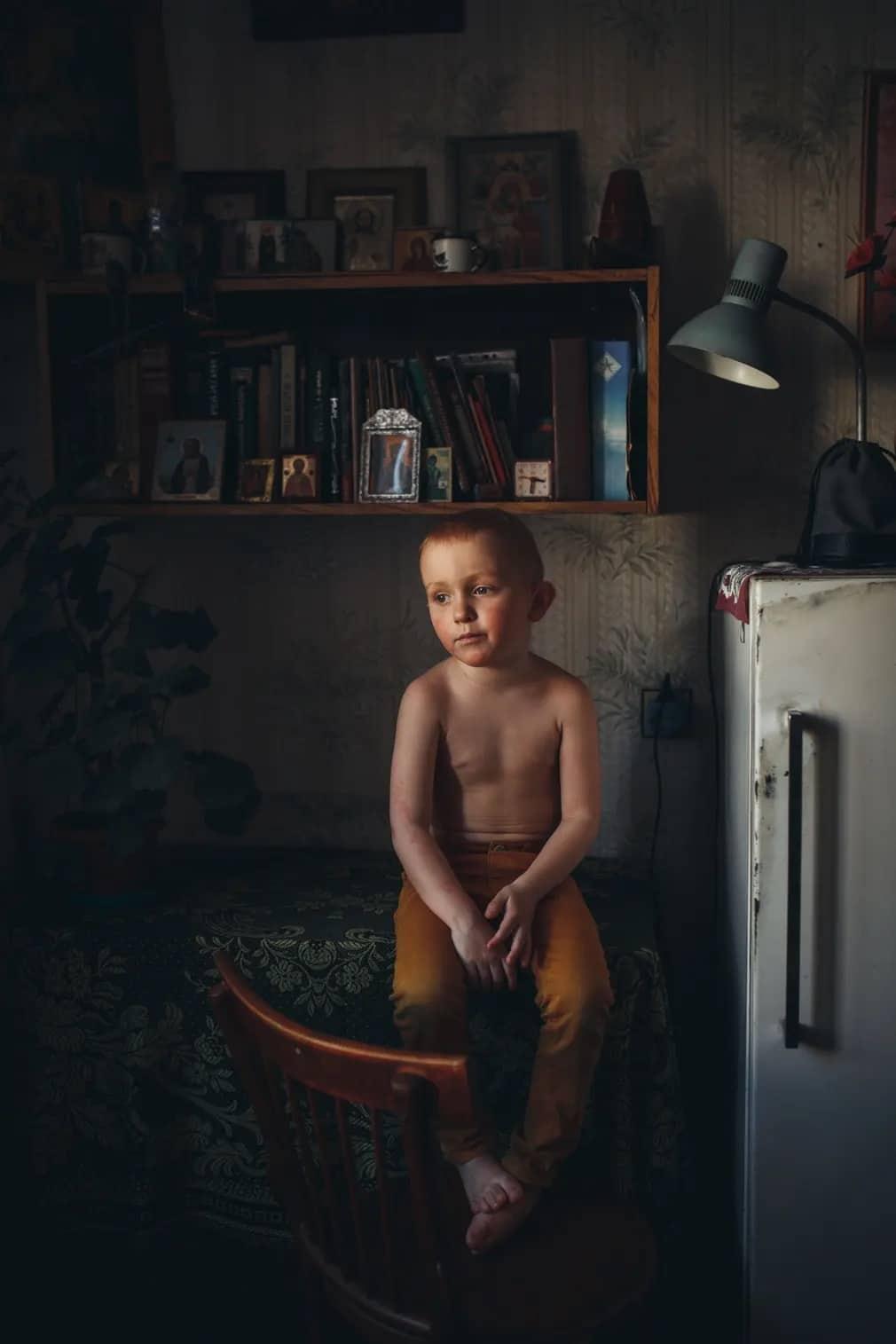Sony World Photography Awards, Fotoverseny, Sony, Gyerek, Fiu, Gyermekkor, Lyudmila Sabanina, Nap Fotoja