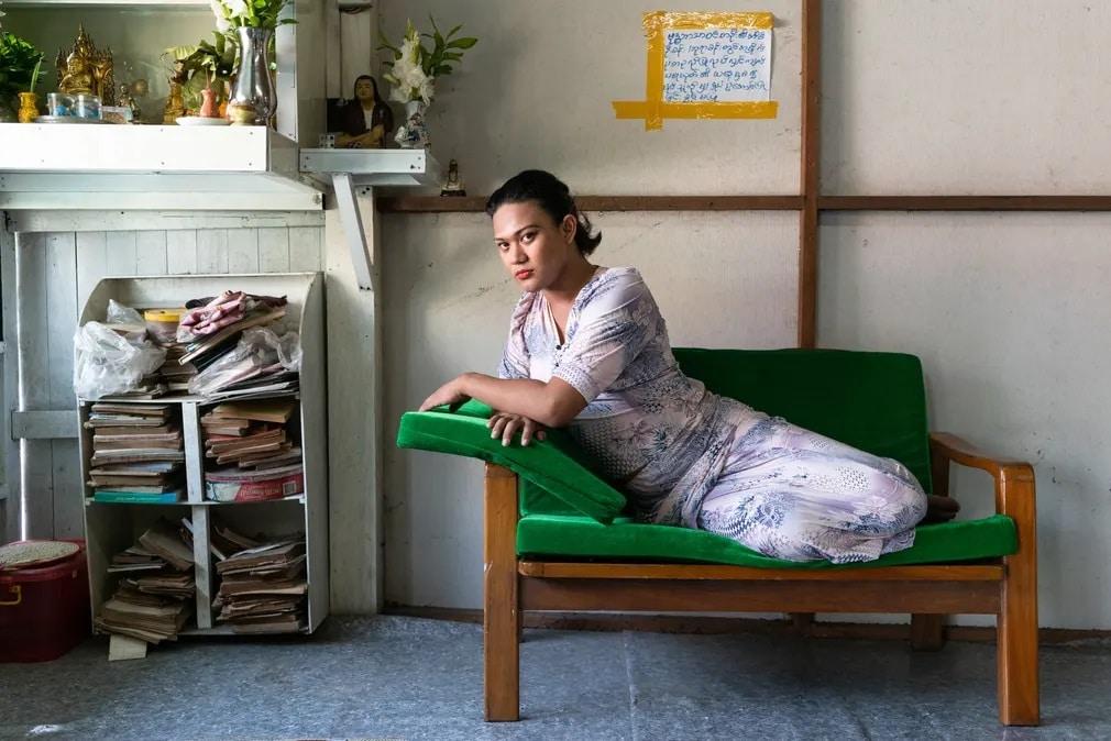 this is gender, fotopalyazat, transznemu, nem, nemi szerepek, nemiseg, queen nicki rangoon, mianmar, aktivista