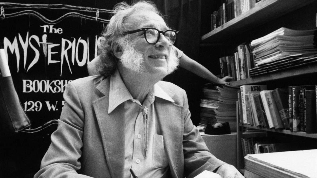 Isaac Asimov Szuletesnap Portre Alapitvany Konyvek