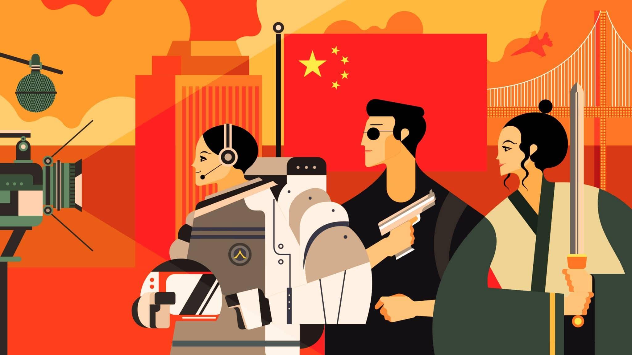 kínai kommunista párt kínai propaganda mozik