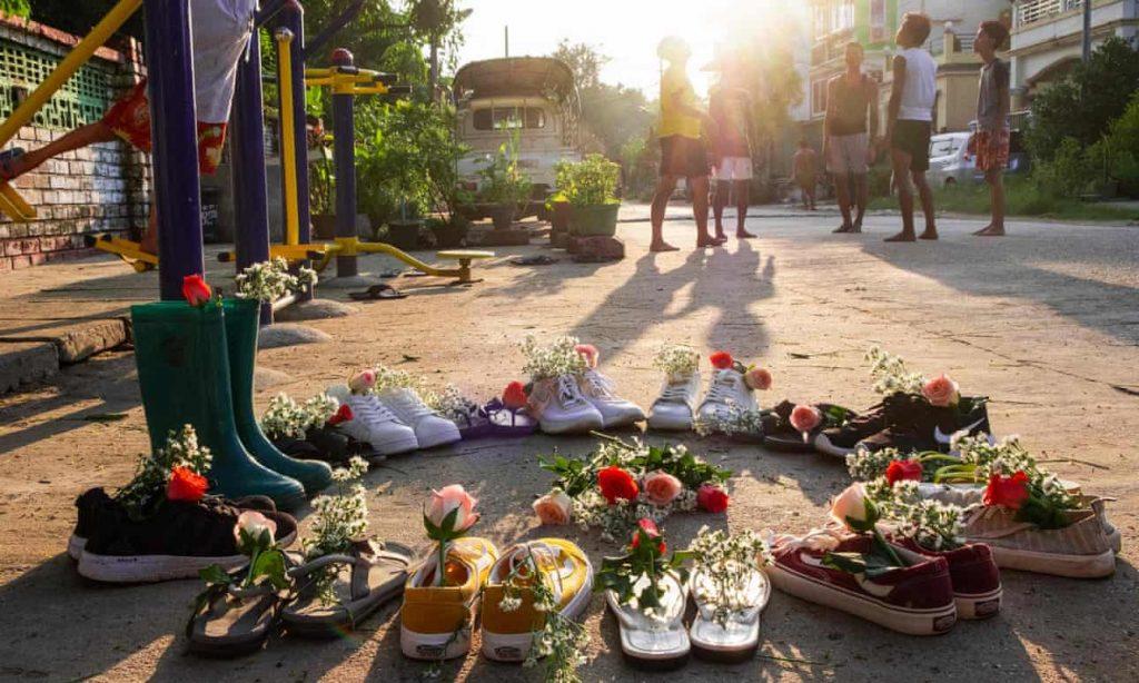 mianmar katonai rezsim elleni tuntetesek