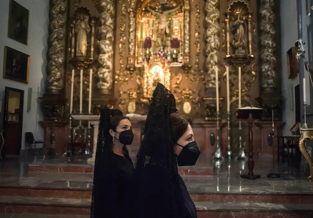 Semana Saanta, Mantilla, Husveti Unnepek, Jesus Merida, Nap Fotoja