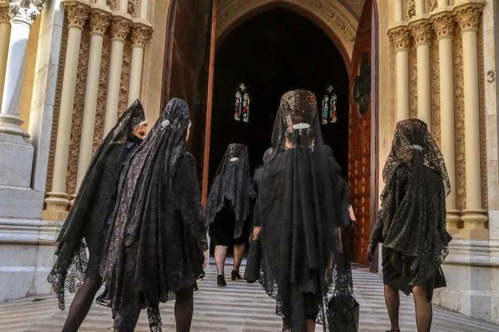 Semana Santa, Mantilla, Husveti Unnepek, Lorenzo Carneo, Nap Fotoja