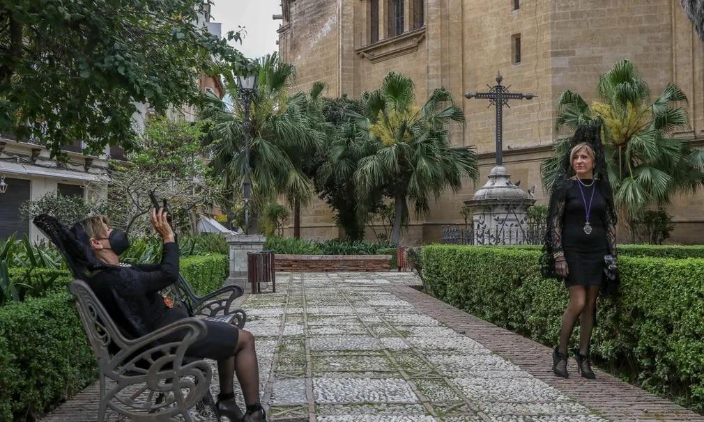 Semana Santa, Mantilla, Husveti Unnepek, Lorenzo Carneo, Noiesseg, Nap Fotoja