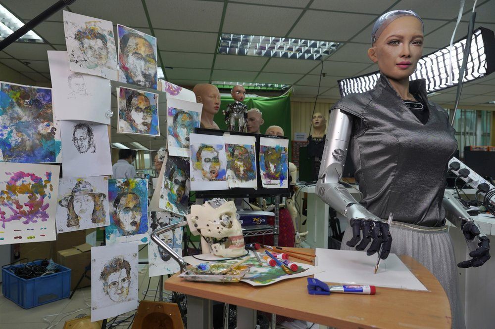 Sophia Robot Mesterseges Intelligencia Humanoid