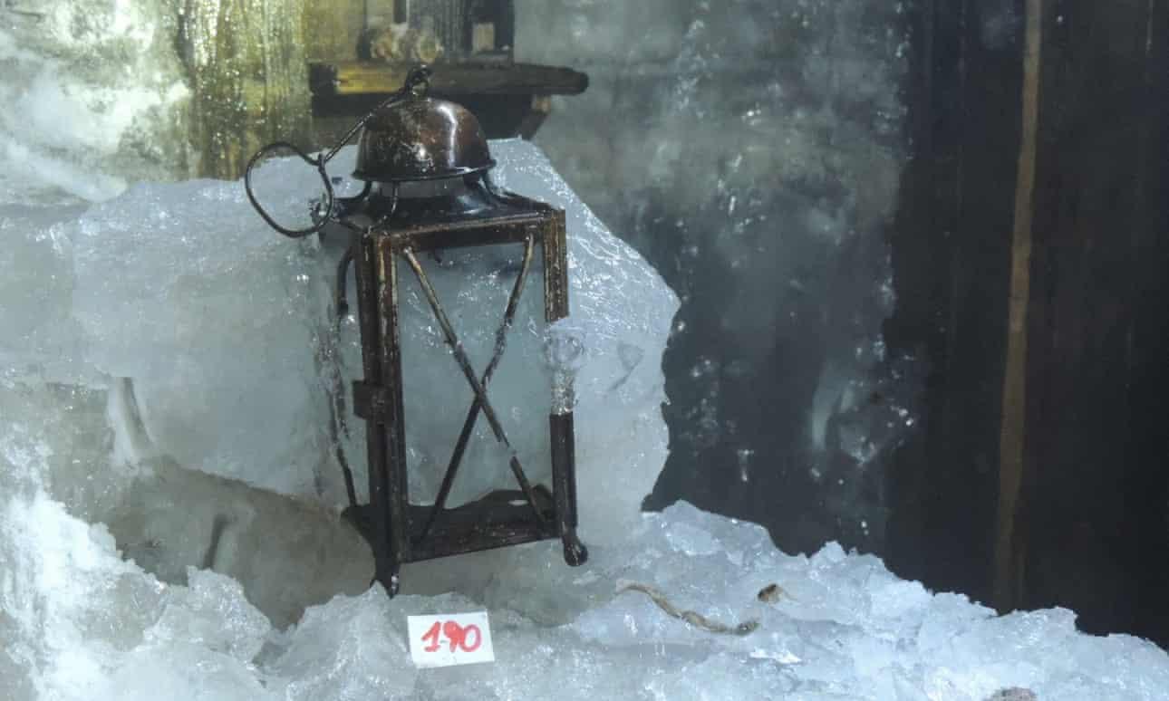 vilaghaborus idokapszula gleccserek olvadas jegregeszet olasz alpok