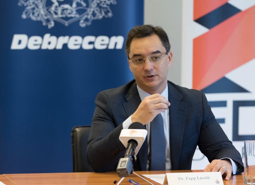 Papp Laszlo Debrecen Fidesz Kulturalis Elet Atszervezese