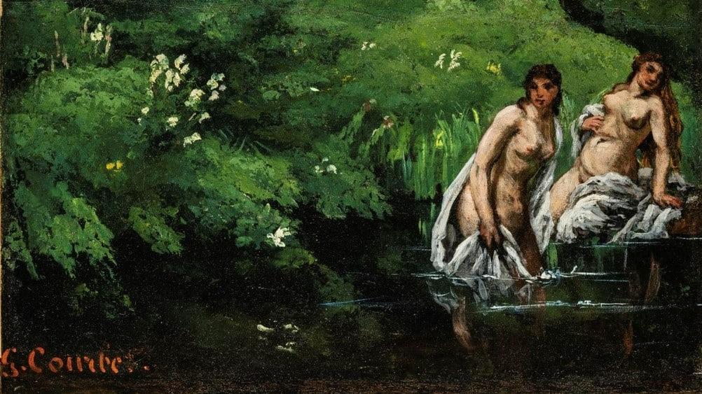 Gustave Courbet Furdozok Az Erdoben Szepmuveszeti Muzeum