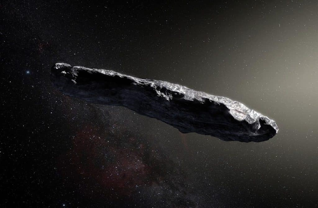 Oumuamua Foldonkivuli Civilizacio Galileo Project