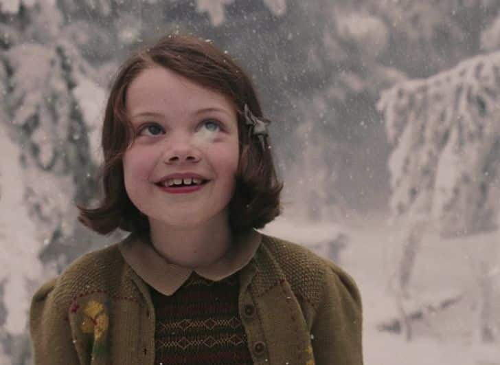 Filmjelenetek Improvizacio Georgie Henley Narnia Kronikai
