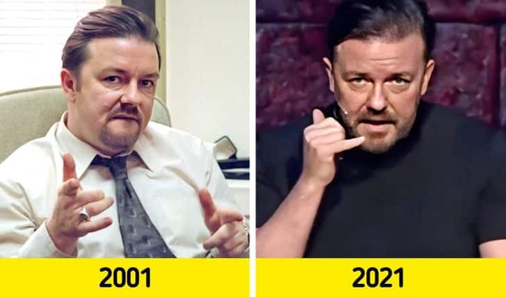 Hatvan Eves Hiressegek 2021 Ricky Gervais