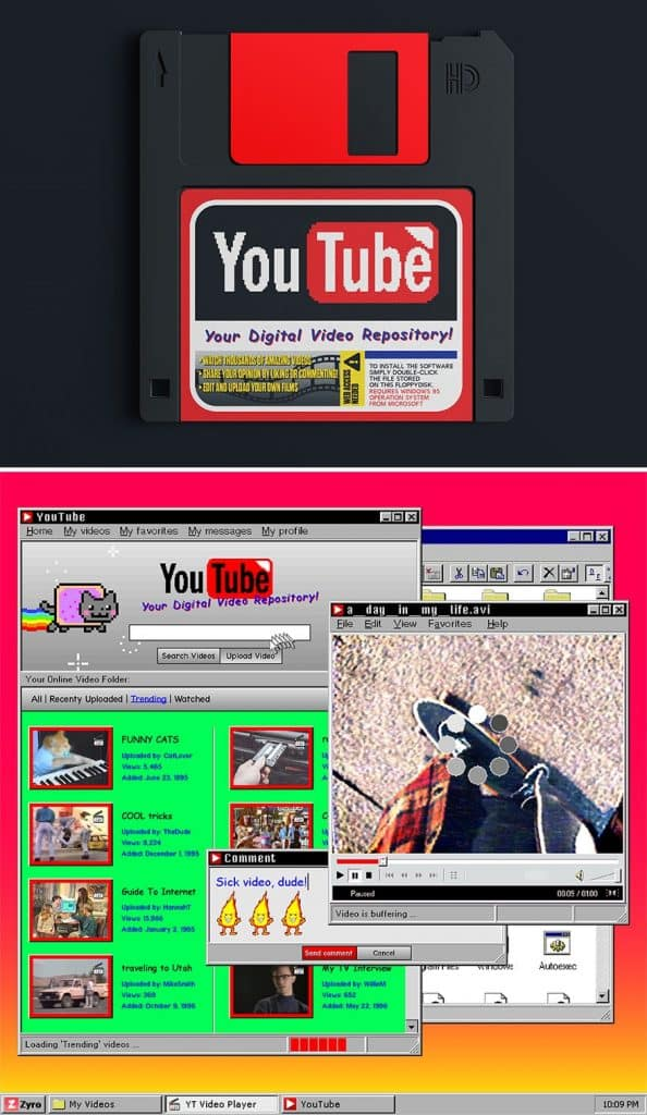 Mai Weboldalak 90Es Evek Dizajn 1