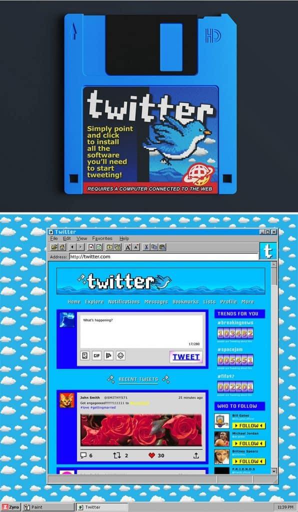 Mai Weboldalak 90Es Evek Dizajn 3