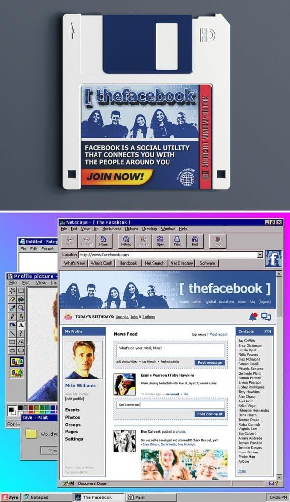 Mai Weboldalak 90Es Evek Dizajn 4
