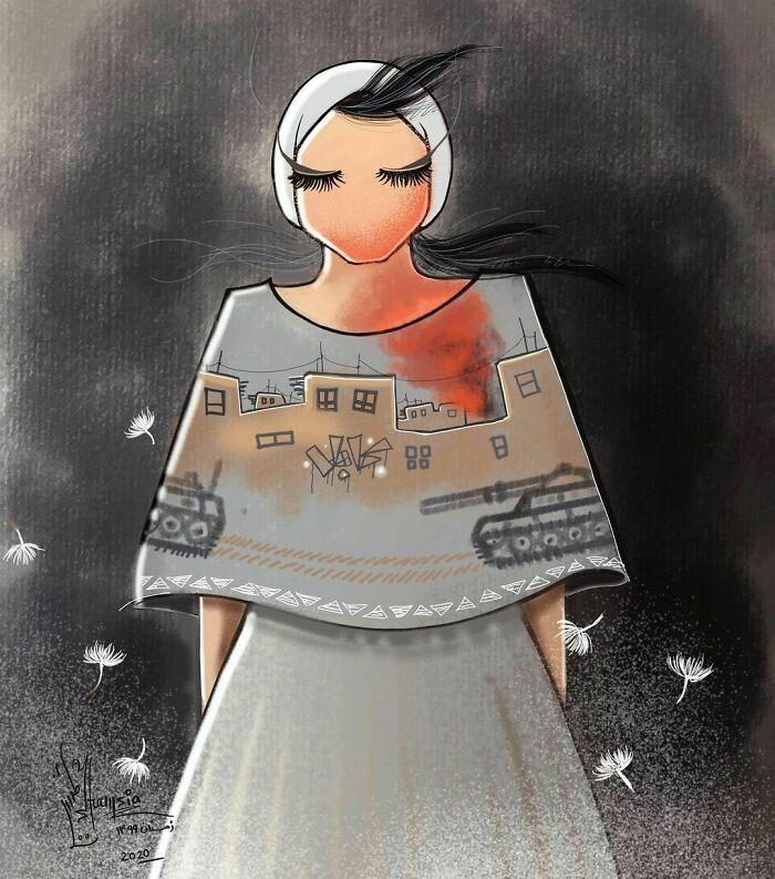 Shamsia Hassani Afgan Street Art 11