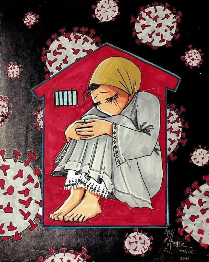 Shamsia Hassani Afgan Street Art 8