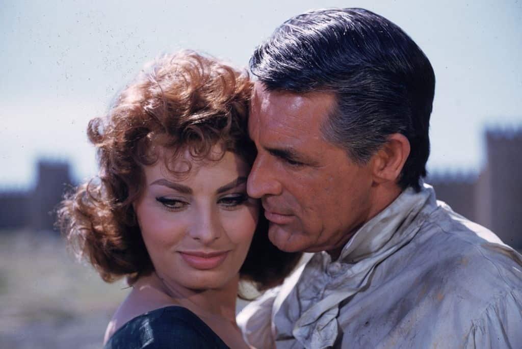 Sophia Loren Cary Grant Buszkeseg Es Szenvedely