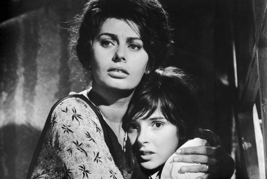 Sophia Loren And Eleanora Brown In &Quot;Two Women,&Quot; 1960.